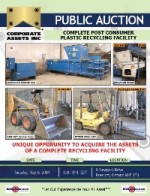 Complete Post Consumer Plastic Recycling Facility