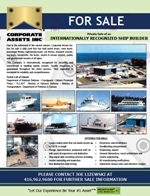 INTERNATIONALLY RECOGNIZED SHIP BUILDER