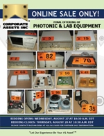 Final Offering of Photonic & Lab Equipment