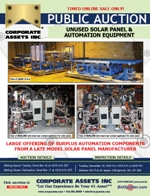 Unused Solar Panel & Automation Equipment