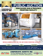 Vancouver Sun & Province Printing Facility