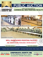 Commercial Web Printing Facility