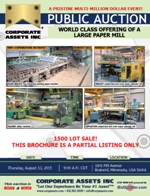 World Class Offering of a Large Paper Mill