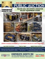 Major (Oil Recovery) Disaster Relief Equipment Event