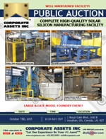 Complete High-Quality Solar Silicon Manufacturing Facility
