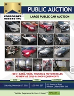 Large Public Car Auction