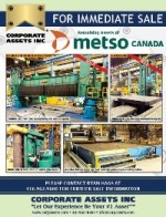 REMAINING ASSETS OF METSO CANADA
