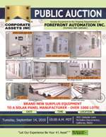 Forefront Automation Inc. (Formerly DBA Optisolar)