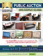 Large Offering of Late Model Office Furniture & Equipment