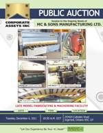 MC & Sons Manufacturing Ltd.