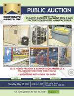 Plastic Support, Machine Tools and Factory Equipment Manufacturer