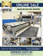 HAAS GR-510 CNC Router