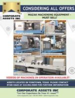 MAZAK MACHINING EQUIPMENT - MUST SELL!