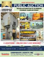 Major Automotive & Aluminum Foundry Surplus Event