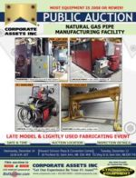 Natural Gas Pipe Manufacturing Facility