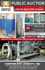 Large No-Bake Steel Foundry