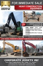 FOR IMMEDIATE SALE - HEAVY CONSTRUCTION EQUIPMENT