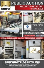 Alliantis Metal Inc. - Final Sale