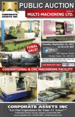 Multi-Machining Ltd. – Final Sale