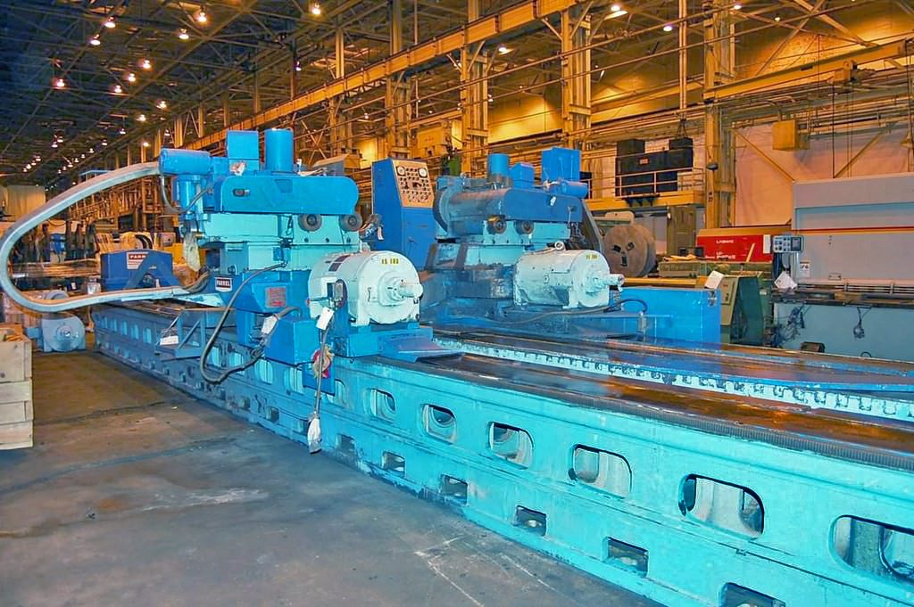 "FARREL 72"" x 376"" Two Wheel Swing Rest Roll Grinder Image"