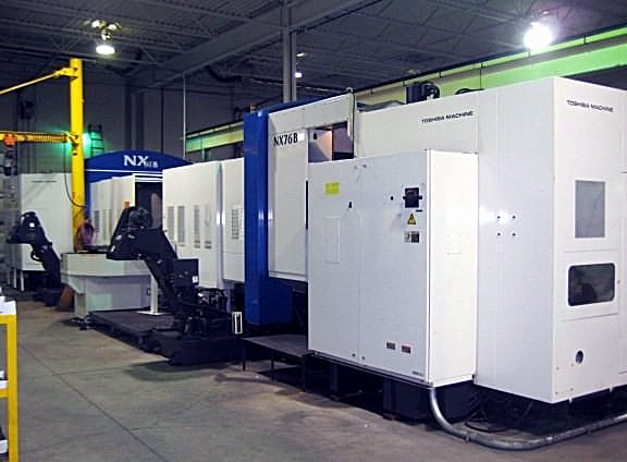 TOSHIBA NX-76B 2-Machine Flexible Machining System Image