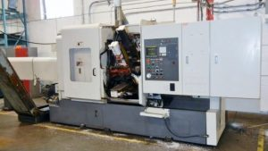 "MITSUBISHI 1-5/8MITSUBISHI 1-5/8"" M-T42E CNC 6-Spindle Automatic Screw Machine Image"
