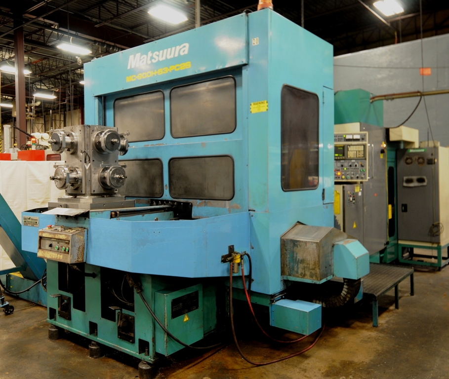 MATSUURA MC-900H Dual Pallet CNC Horizontal Machining Center Image