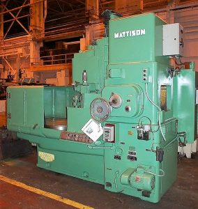 "MATTISON 24-42 42"" Rotary Surface Grinder Image"