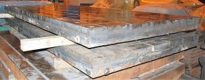 "(2) 72"" x 144"" x 6.25"" T-Slotted Cast Iron Floor Plates Image"