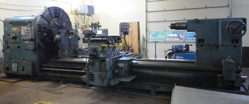 LEOPOLDO PONTIGGIA gap bed engine lathe Image