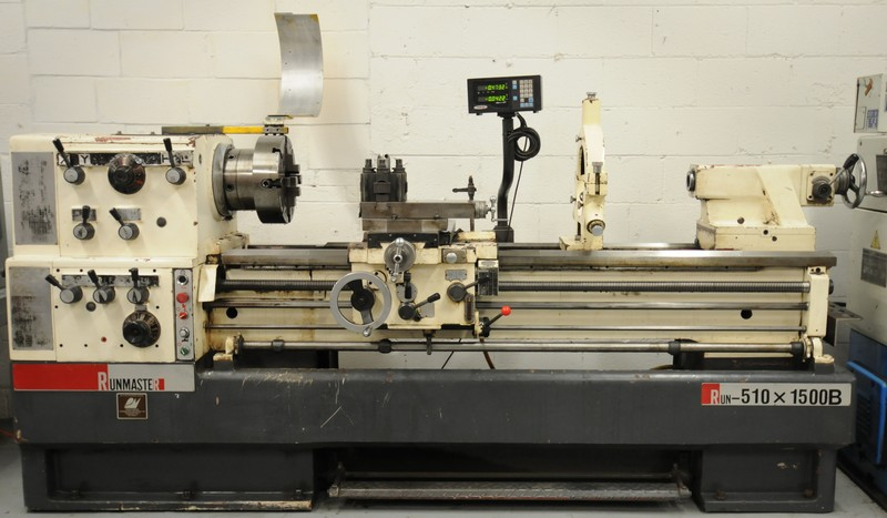 RUNMASTER gap bed engine lathe Image