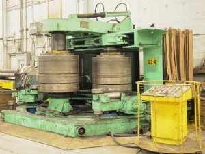 JOHN EWING hydraulic section bending roll Image