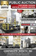 Late Model DOOSAN Vertical Turning Centers