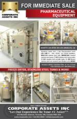 For Immediate Sale - Pharmaceutical Equipment