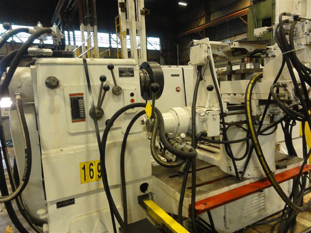 """LEIFELD ATM400  0.125"""" X 52"""" Hyd. Auto. Templated Controlled Spinning Lathe Image"""