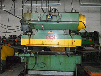 CHICAGO-DREIS & KRUMP Mechanical Press Brake Image