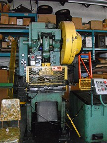 BLISS C35 OBI Single Crank Flywheel Press Image