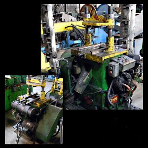 MV MACHINEWORKS 2 Post 20 Ton Cut-Off Press Image