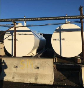 LTOIL above ground diesel/fuel oil steel storage tanks Image