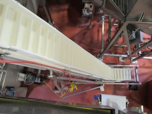 CS100 – Cleated elevating belt conveyor