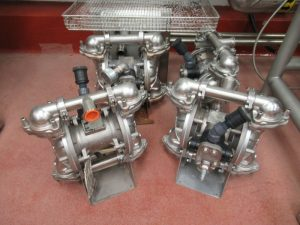 CS148 – Sandpiper pumps