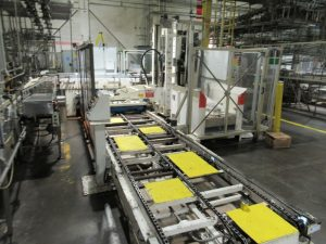 CS156 – Label & Palletizing Line 9