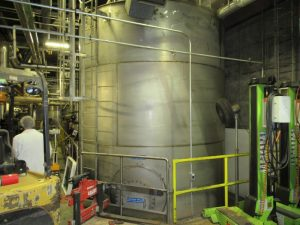 CS171 – SS vegetable oil storage tank