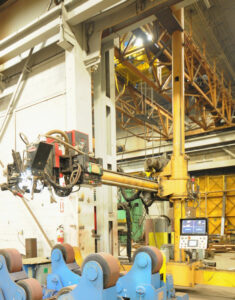 EWING rail-mounted welding manipulator Image