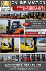 Large Forklift Lease Return Event #2