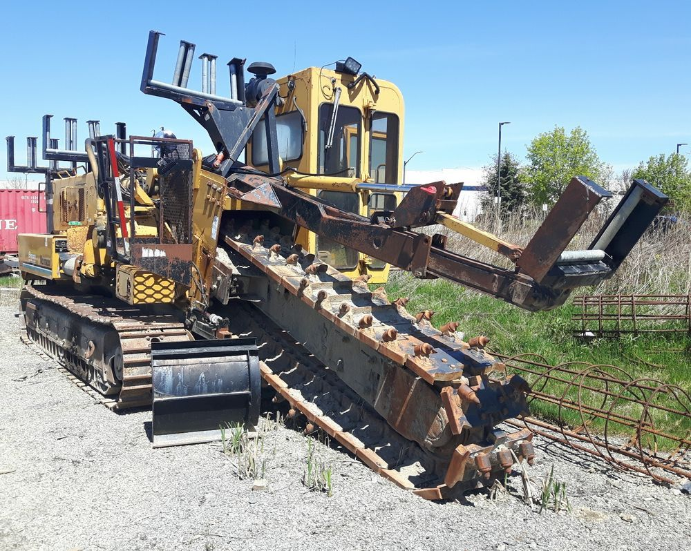 VERMEER T655 DT boom & chain crawler trencher Image