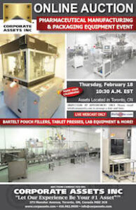 Pharmaceutical Manufacturing & Packaging Equipment Event