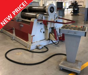 SAMPSON AHS 10/22, 4 roll hydraulic plate bending rolls - PRICE REDUCED! Image