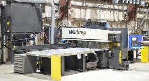 WHITNEY CNC hydraulic punch press Image