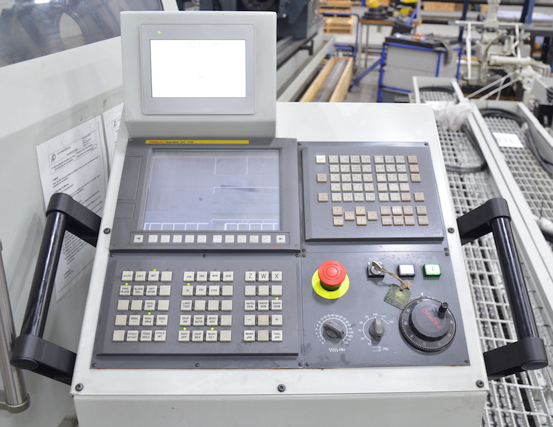 View of FANUC SERIES Oi-TD CNC control